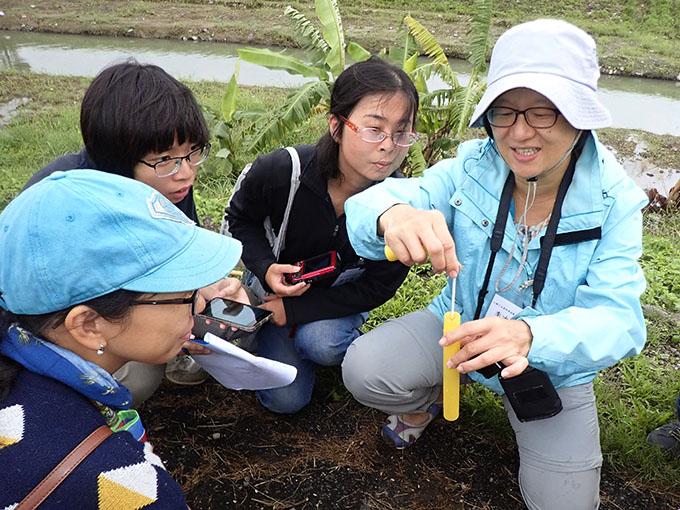 羅東自然教育中心-小腳丫走濕地溪流教學工作坊-花絮